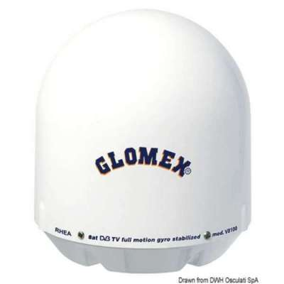 Antenna TV satellitare GLOMEX Rhea
