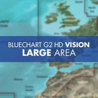 Bluechart G2 Vision HD Large Area SD-Micro SD
