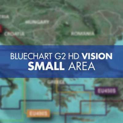 Bluechart G2 Vision HD Small Area SD-Micro SD