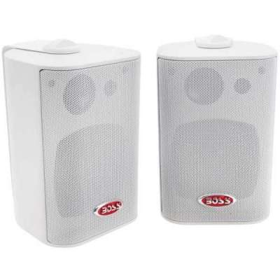 Boss Marine MR4.3W, Coppia Speaker Box, 200W 3 Vie