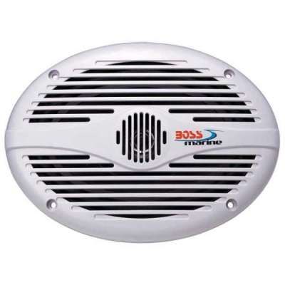Boss Marine MR690 Coppia Speaker 350W Bianchi