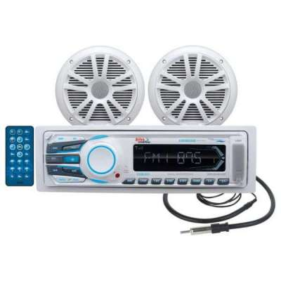 Boss Marine radio MCK1308WB.6 Package